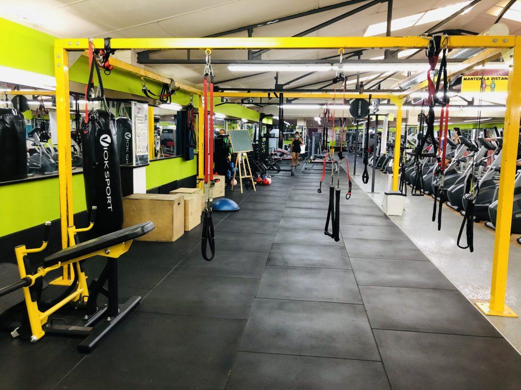 Circuito Funcional Gimnasio Fit Plus Santa Coloma